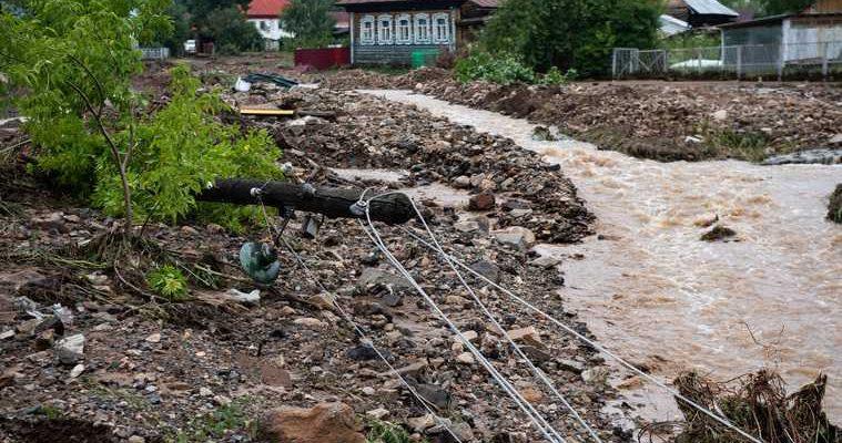 Нижние Серги потоп причины версии Зиничев приезд