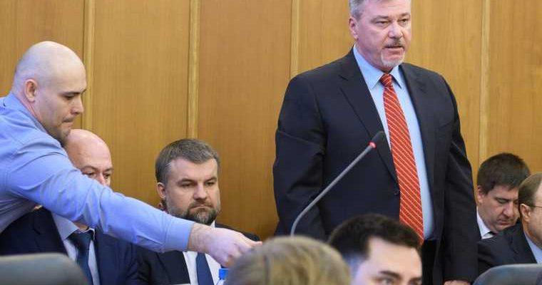 Дмитрий Баранов Екатеринбург отставка
