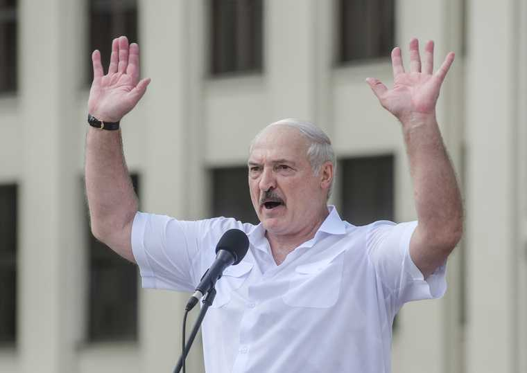 Белаоусь митинги Лукашенко