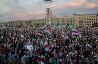 Лаавров о потестах в Беларуси