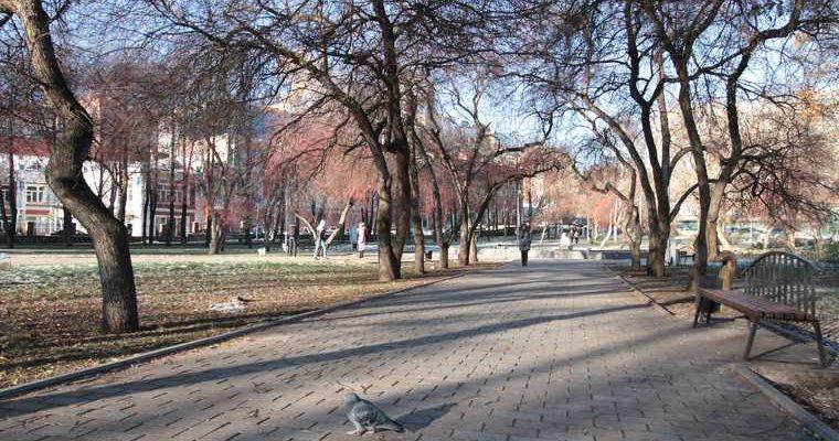 аномально теплая погода Пермский край