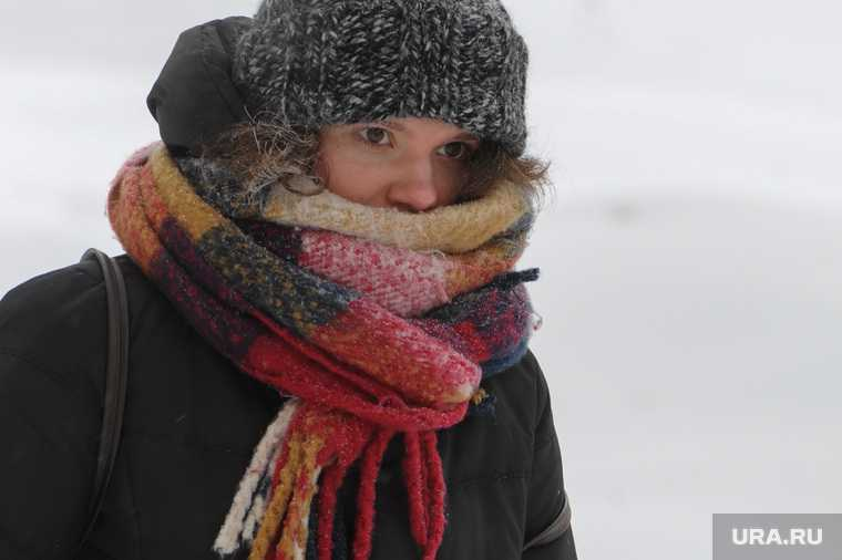 Челябинск снег