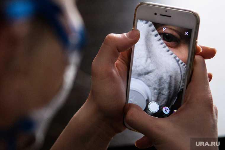 коронавирус смартфон контакт заболевший