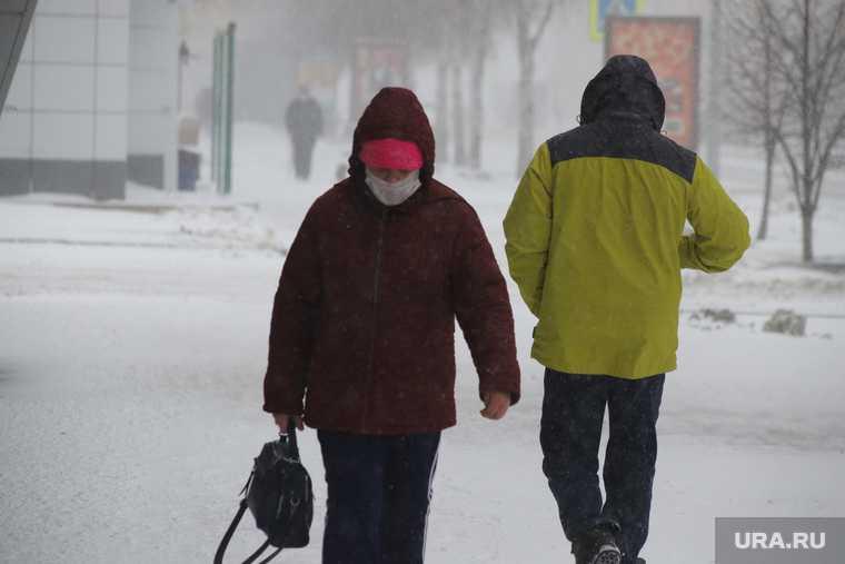мороз в Кургане