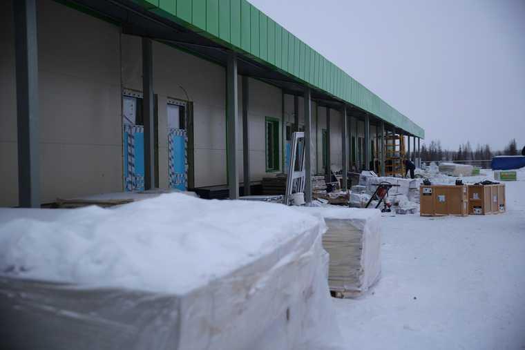 строительство госпиталя коронавирус ЯНАО Салехард сроки