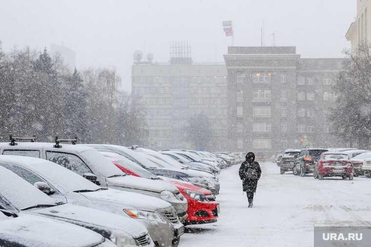 Челябинск погода снег