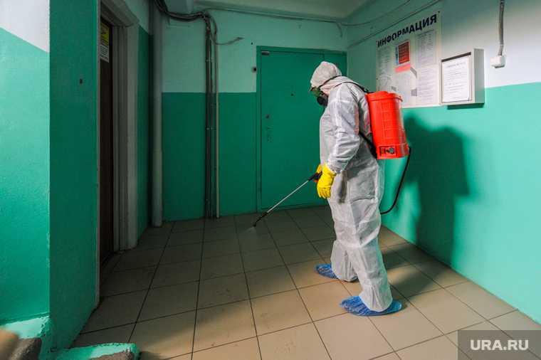Дезинфекция от коронавируса. Челябинск