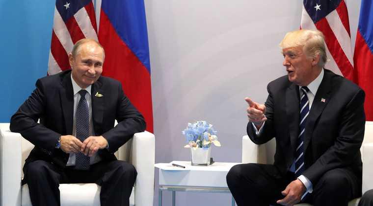 Дональд Трамп Владимир Путин США президент Капитолий Нэнси Пелоси