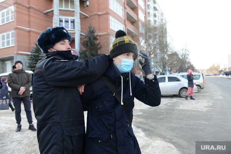 Челябинская область акции митинг навальный точное число задержанных