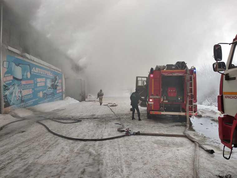 в красноярске погибли пожарные