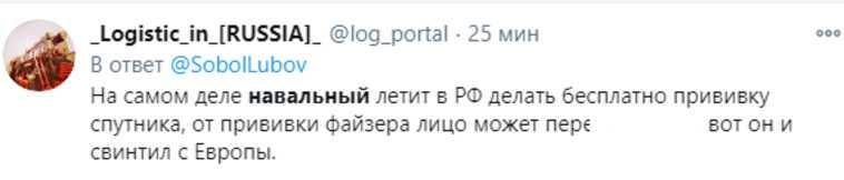 """В соцсетях бурно обсуждают возвращение Навального в Россию. «Летит """"Победой"""", чтобы победить»"""