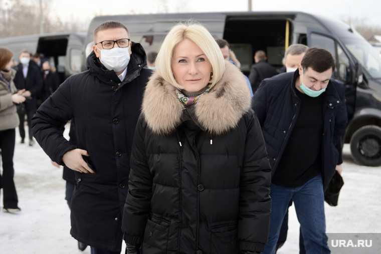 Челябинск Абраменко губернатор Текслер 29 января фото свалка Мечел ЧТПЗ