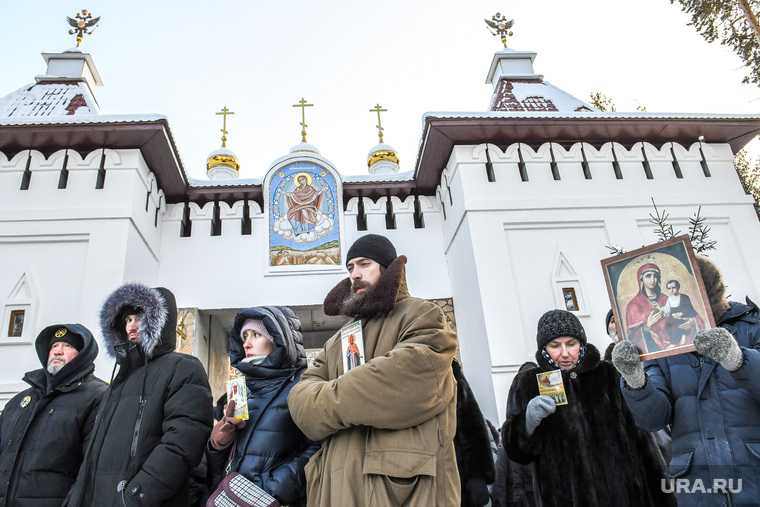 Монастырь, после задержания отца Сергия Романова. Екатеринбург